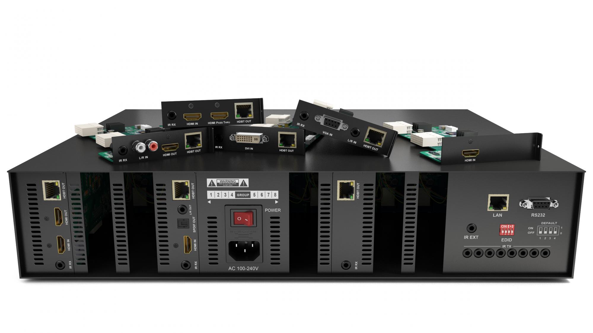 WyreStorm y la tecnología HDBaseT 5Play™