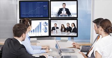 sistemas de colaboración, solución videoconferencia, presentaciones empresas, salas de juntas.