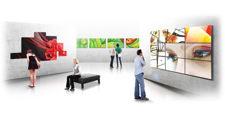 Digital Signage – VideoWall Samsung serie UD
