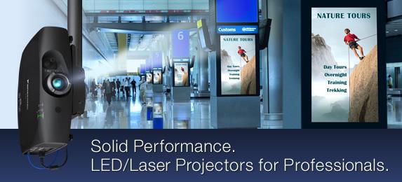 Cómo funciona un proyector Laser LED Híbrido