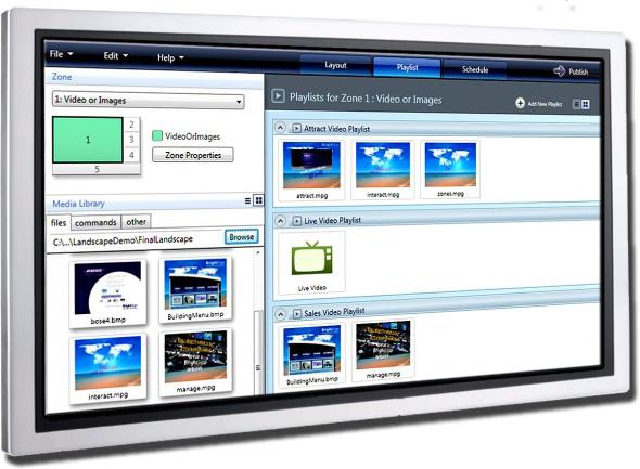 Lecciones básicas del uso del software BrightAuthor