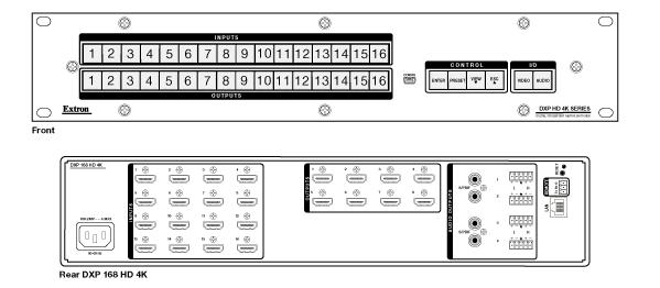 Matriz DXP168HD