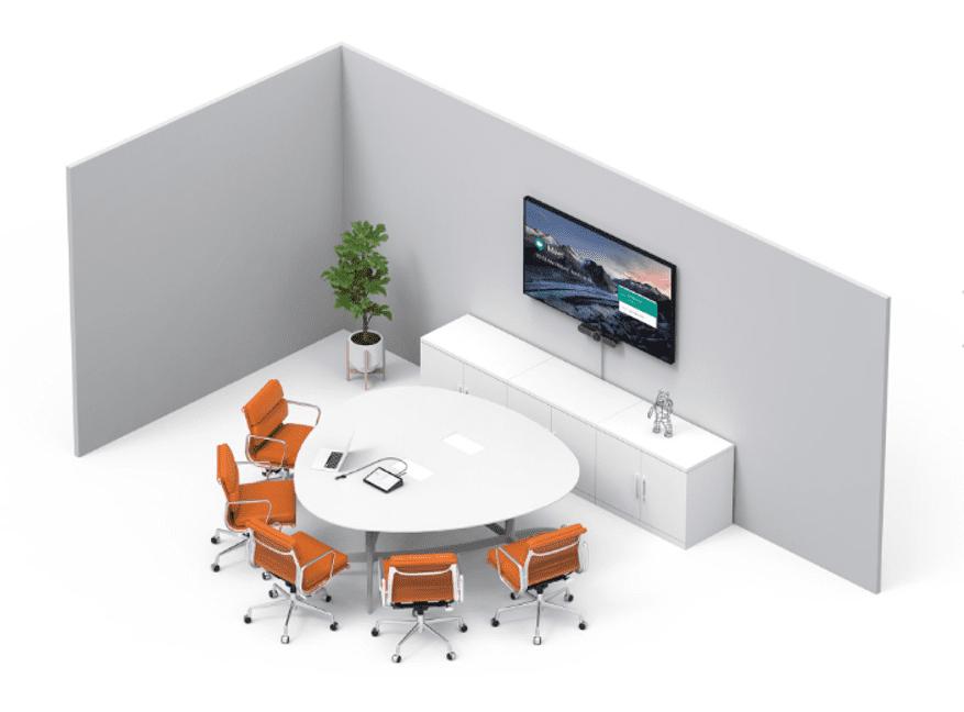 Sala de reuniones pequeña