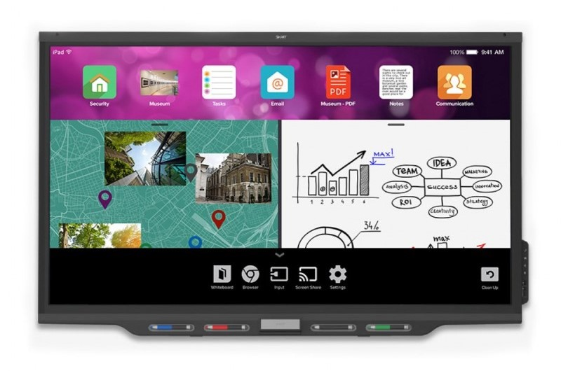 Pantalla interactiva Smart Serie MX2