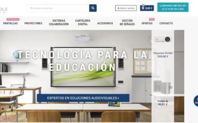 Nueva tienda online de Equipos Audiovisuales
