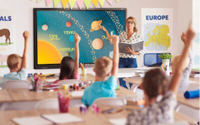 Pantallas Interactivas para Educación