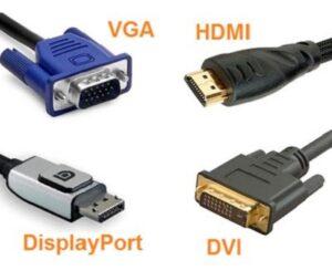 4 tipos de cable de vídeo