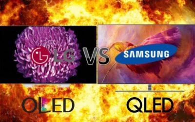 ¿Samsung o LG? QLED vs OLED: ¿Cuál elijo?