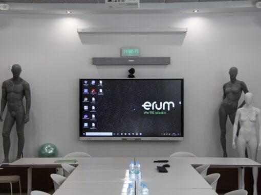 ERUM – Sistemas de Videoconferencia para Salas de Reuniones